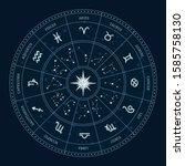 Astrology Zodiac Signs Circle....