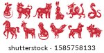 Chinese Zodiac New Year Signs....