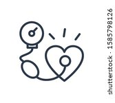 blood pressure icon. isolated...