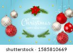 merry christmas and new year... | Shutterstock .eps vector #1585810669