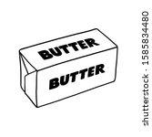 Butter Outline Illustration ...
