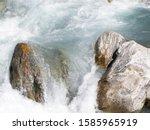 Swiss Alps. Mountain Water...