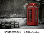 British Phone Booth In London ...