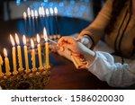 Jewish Holiday Chanukah...