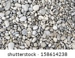 Texture Of Pebbles From A Beac...