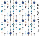 Pattern With Beads On Thread....