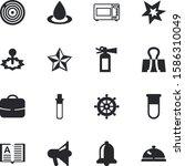 button vector icon set such as  ... | Shutterstock .eps vector #1586310049