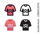 sweater logo icon design in...