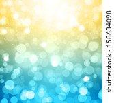 blurred festive vector... | Shutterstock .eps vector #158634098