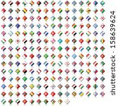 world flag collection | Shutterstock . vector #158639624