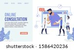 online medical prof... | Shutterstock .eps vector #1586420236