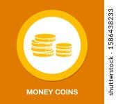 money coins icon  savings... | Shutterstock .eps vector #1586438233
