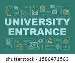 university entrance word...