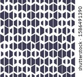 simple seamless geometric... | Shutterstock .eps vector #1586491390