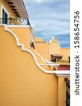 mexican architecture | Shutterstock . vector #158654756