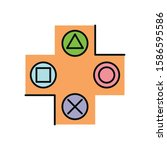 video game arrows button...