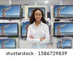 Portrait Of Female Sales...