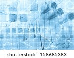 science research as a concept | Shutterstock . vector #158685383