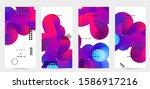 bright colored sale...   Shutterstock .eps vector #1586917216