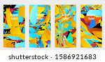 abstract social media template... | Shutterstock .eps vector #1586921683