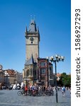 Prague Czech Republic. The Old...
