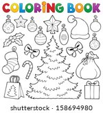 Coloring Book Christmas Decor ...