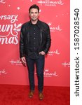 Small photo of LOS ANGELES - NOV 20: Jonathan Bennett arrives for the �Christmas Under the Stars' Special Screening on November 20, 2019 in Los Angeles, CA