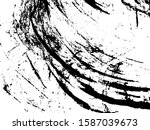 black rough abstract distress.... | Shutterstock .eps vector #1587039673