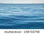 High Resolution Blue Sea Water
