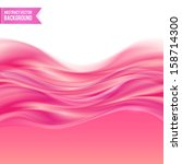 Pink liquid jelly abstract vector background