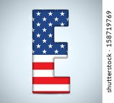 Usa Independence Day Alphabet...