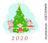 Illustration Of New Year 2020...