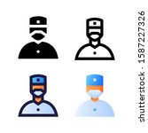 surgeon logo icon design in...
