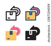 returns logo icon design in...