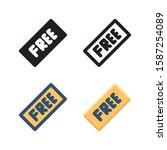 free logo icon design in four...