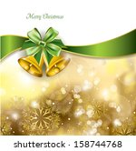 christmas background with...   Shutterstock .eps vector #158744768