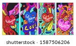 vector doodle illustration...   Shutterstock .eps vector #1587506206