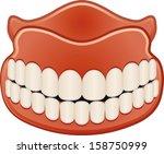 teeth | Shutterstock .eps vector #158750999