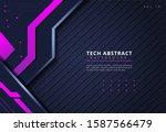modern abstract technology...   Shutterstock .eps vector #1587566479