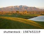 View Of A Santa Ana Golf Club...