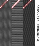 set of three seamless pattern  | Shutterstock .eps vector #158772890