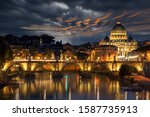 St Peters Basilica And The...