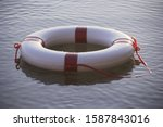 Flotation Device Floating In...