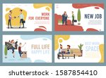 disabled people business career ...   Shutterstock .eps vector #1587854410
