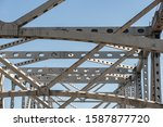 The Horace Wilkinson Bridge, a cantilever bridge carrying Interstate 10 in Louisiana across the Mississippi River from Port Allen in West Baton Rouge Parish to Baton Rouge in East Baton Rouge Parish.