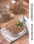Cooked Buckwheat In A Glass ...