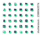 web video player icons  social...