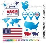 Постер, плакат: United States of America