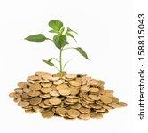 financial growth   Shutterstock . vector #158815043