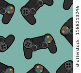 black console design for...   Shutterstock .eps vector #1588213246